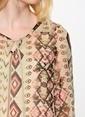 Vero Moda Şifon Bluz Bordo